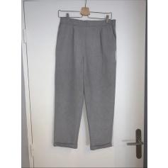 Pantalon slim, cigarette Pull & Bear  pas cher