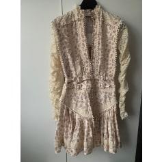 Robe courte Zimmermann  pas cher