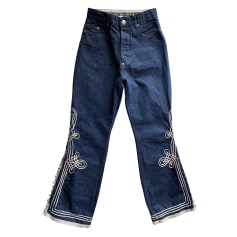 Jeans évasé, boot-cut Jean Paul Gaultier  pas cher