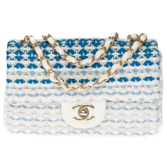 Schultertasche Stoff Chanel Timeless - Classique