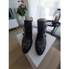 Santiags, bottines, low boots cowboy Chloé  pas cher