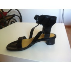 Sandales plates  Stéphane Gontard  pas cher