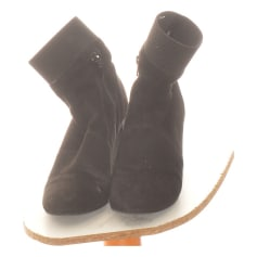 Flat Ankle Boots Texto