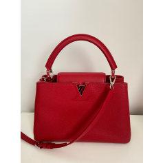 Lederhandtasche Louis Vuitton Capucines
