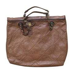 Leather Oversize Bag Lanvin
