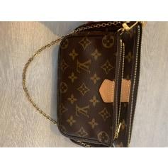 Sac en bandoulière en cuir Louis Vuitton Multi-pochette accessoires pas cher