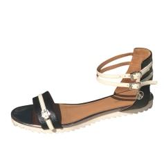 Sandales plates  Armani Jeans  pas cher