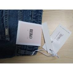 Jeans évasé, boot-cut Reiko  pas cher