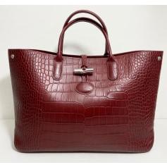 Ledertasche groß Longchamp