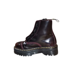 Bottines & low boots motards Dr. Martens  pas cher