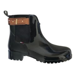 Bottines & low boots plates Tommy Hilfiger  pas cher