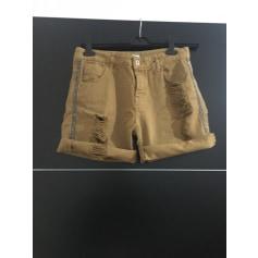 Short en jean Eco  pas cher