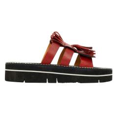Sandales plates  Sartore  pas cher