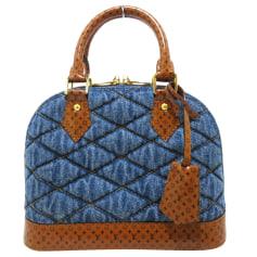 Stoffhandtasche Louis Vuitton Alma