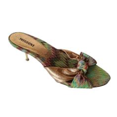 Sandales à talons Missoni  pas cher