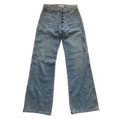 Jeans droit Rouje  pas cher
