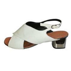 Sandales à talons Robert Clergerie  pas cher