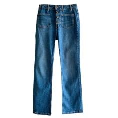 Jeans svasato, boot-cut Maje