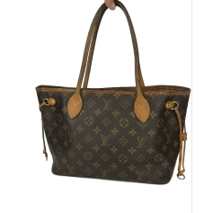 Sac à main en tissu Louis Vuitton Neverfull pas cher