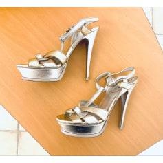 Wedge Sandals Yves Saint Laurent Tribute