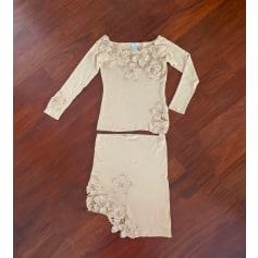 Robe mi-longue Etincelle Couture  pas cher