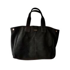 Leather Oversize Bag Sézane
