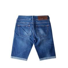 Short en jean Met  pas cher
