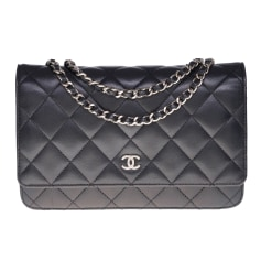 Leather Shoulder Bag Chanel Wallet-On-Chain
