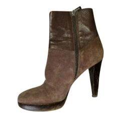 High Heel Ankle Boots Longchamp
