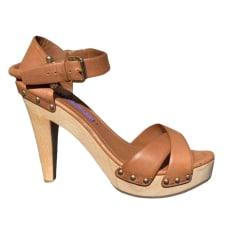 Sandali con tacchi Ralph Lauren