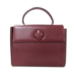 Leather Handbag Cartier