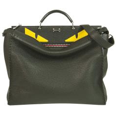Leather Oversize Bag Fendi Peekaboo