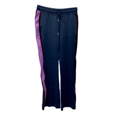Straight Leg Pants Sandro