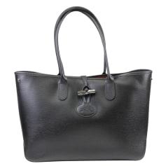 Leather Shoulder Bag Longchamp