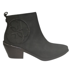 Flat Ankle Boots Guess