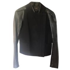 Leather Jacket Maje