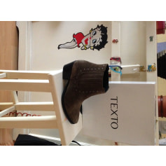Cowboy Ankle Boots Texto