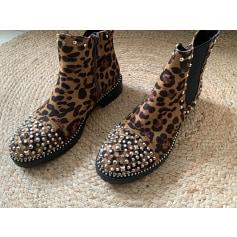 Bottines & low boots à talons Sixth Sens  pas cher