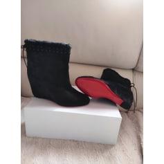 Bottines & low boots à compensés Christian Louboutin Very Prive pas cher