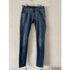 Jeans droit Simply Chic  pas cher