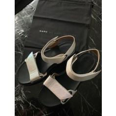 Sandales plates  Marc Jacobs  pas cher