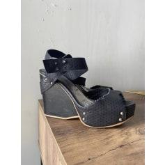 Sandales compensées Cop-Copine  pas cher