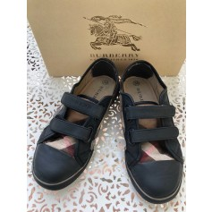 Chaussures à scratch Burberry  pas cher