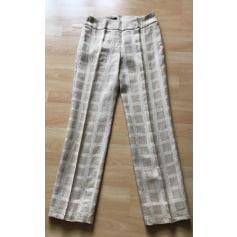 Pantalon droit Caractère  pas cher