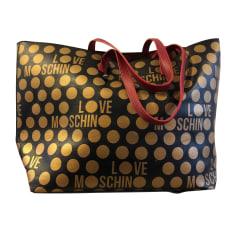 Ledertasche groß Love Moschino