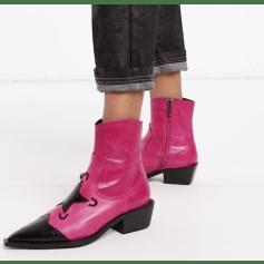 Santiags, bottines, low boots cowboy Asos  pas cher
