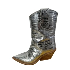 Cowboy Ankle Boots Fendi