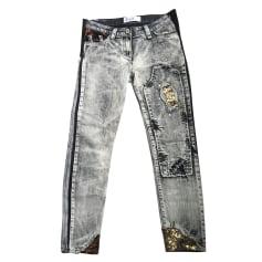 Jeans slim Elisa Cavaletti  pas cher