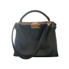 Leather Handbag Fendi Peekaboo