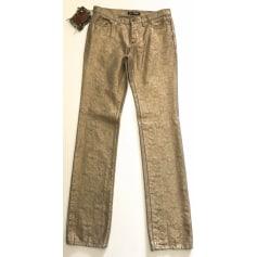 Pantalon droit Gianfranco Ferre  pas cher